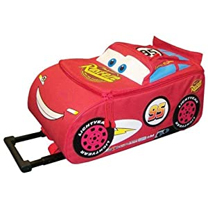 Disney Cars 3 Lightning Mcqueen Kids Cabin Wheeled Bag Trolley Suitcase Luggage