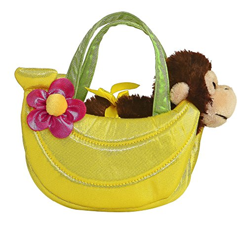 Aurora World Banana Fancy Pals Pet Carrier Purse