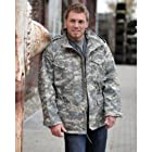 Classic M65 Army Combat Parka Field Jacket Mens Coat AT-DIGITAL, SIZE L