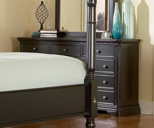 Sahara Bedroom Collection Espresso Finish Dresser