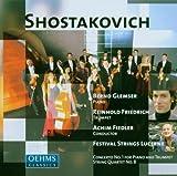 ショスタコーヴィチ:ピアノ協奏曲第1番/24の前奏曲とフーガ - 第1番 前奏曲/弦楽四重奏曲第8番(弦楽合奏編)(フィードラー)