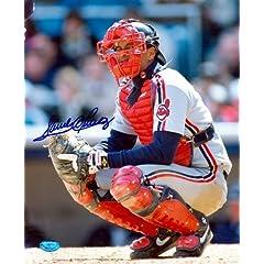 Sandy Alomar Jr. Autographed Hand Signed 8x10 Photo (Cleveland Indians) Image #2