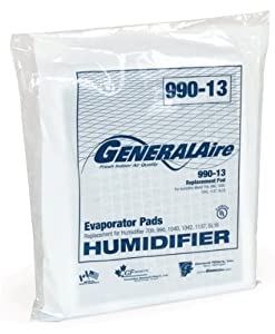 2-pack General Generalaire Humidifier 990-13 Water Pad (View amazon detail page)
