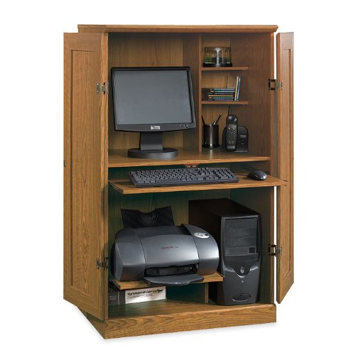 Buy Low Price Comfortable Orchard Hills Computer Armoire (B002PNJGBE)