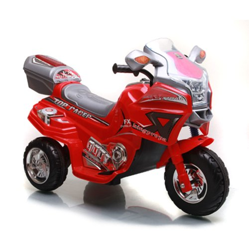 Lil' Rider Top Racer Sport Bike Ride-On, Red front-581077