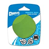 Chuckit! Erratic Ball, Medium, 2-1/2-Inch, 1-Pack