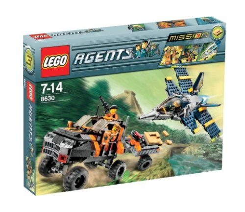 LEGO Agents 8630: Mission 3: Gold Hunt