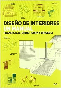 Dise o de interiores un manual francis d k - Libros diseno interiores ...