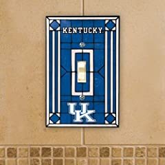 Buy Kentucky Wildcats Light Switch Cover: Single Glass by The Memory Company