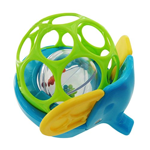O Ball Rollie Rattles Toy Styles may vary.