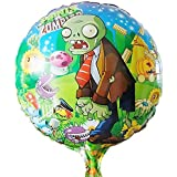 10pcs/lot Plants Vs Zombies Balloon Birthday Party Supplies 45*45cm Halloween Balloons Boy Toys