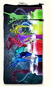 Active Elements stunning Multipurpose both side printed, waterproof Smart mobile pouch Design No-PUC-15329-S Comfortably Fit for Phone Size up to IPHONE 5/4 /5-C Etc.