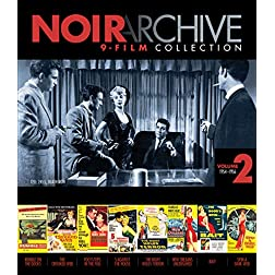 Noir Archive Volume 2: 1954-1956 9-film Collection [Blu-ray]