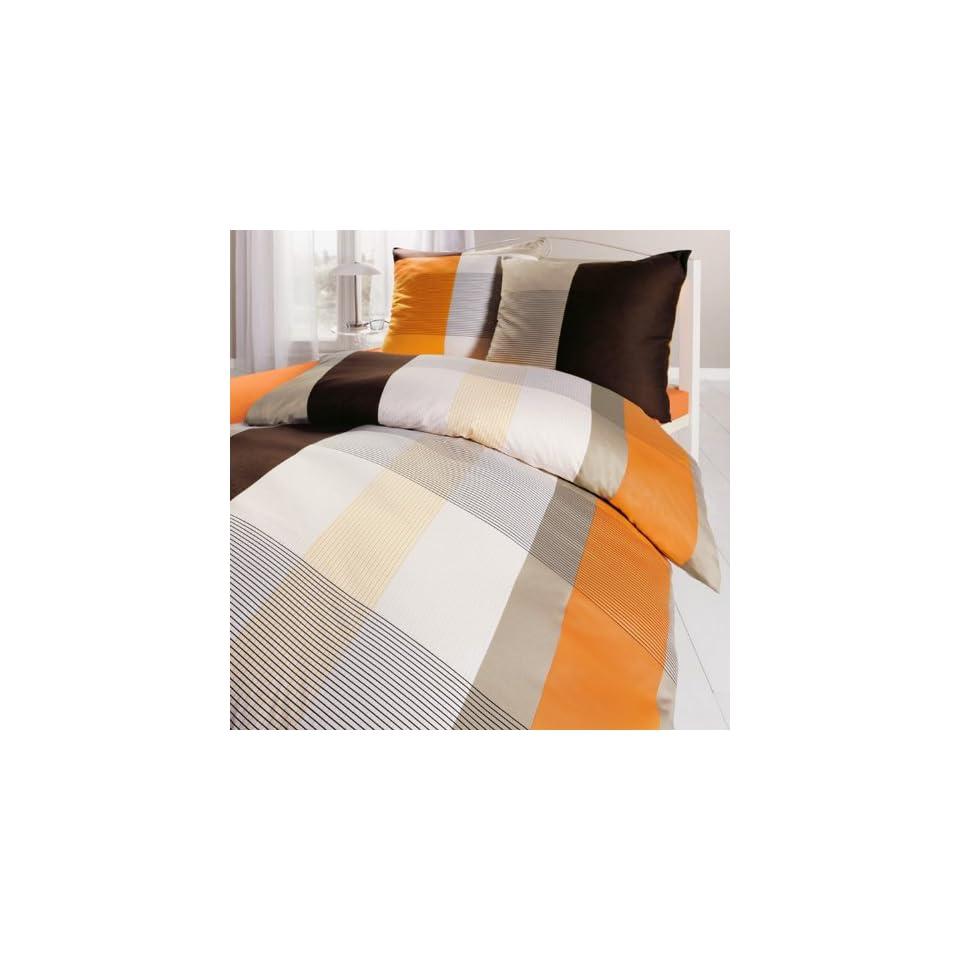 Smail Single Mako Jersey Bettwäsche Orange 155x220 80x80 On Popscreen