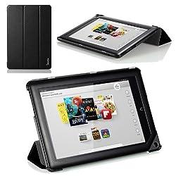 Poetic Slimline Portfolio Case for Barnes & Noble Nook HD+ Full HD 9 tablet Black (3 Year Manufacturer Warranty From Poetic)