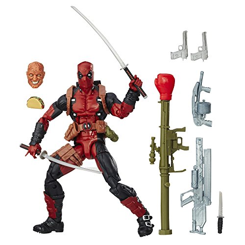Marvel 6 Inch Legends Series Deadpool (Deadpool Toys Action Figures compare prices)