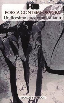 Cover Undicesimo quaderno italiano di poesia contemporanea