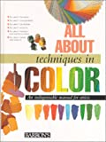 img - for All About Techniques in Color (All About Techniques Series) book / textbook / text book