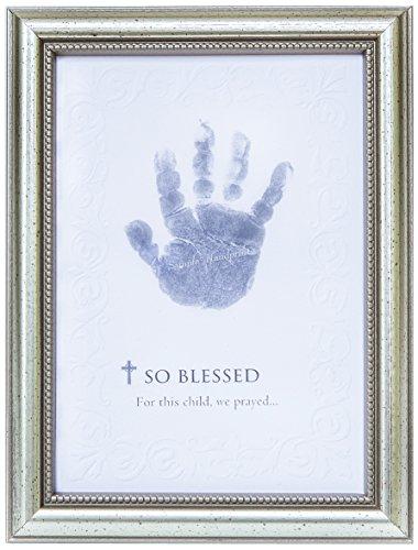 The Grandparent Gift So Blessed Baby Handprint Frame