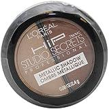 L'Oreal Paris Hip Studio Secrets Professional Metallic Duos, Energized, 0.08 Ounce (Pack of 2)