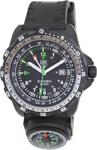 Luminox Recon Navigation Specialist Compass Black Silicone Mens Watch 8832.MI