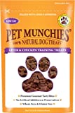 Pet Munchies Liver and Chicken Training Treat 50g, Pack of 8