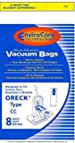 Oreck PK2008 Type CC Upright XL Bags *NEW* with Docking System- 8 Pack