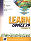Learn Office XP (Volume II) (0130473758) by Preston, John
