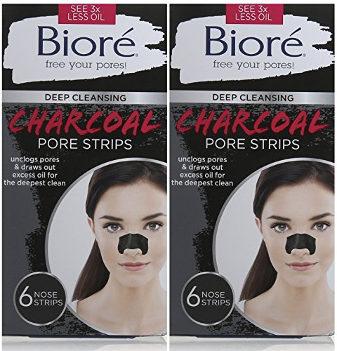 biore-deep-cleansing-pore-strips-charcoal-6-count-pack-of-2