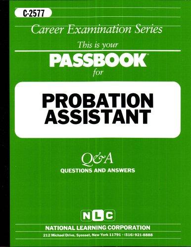 Probation Assistant