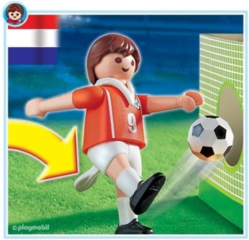 Playmobil 4713 Netherlands Soccer Player Figure