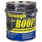 Sashco Gallon Clear Roof Sealant (Color: Clear, Tamaño: Gallon)