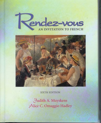 Rendez-vous : an invitation to French