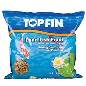 Top fin pond fish food pet food pet supplies for Amazon fish ponds