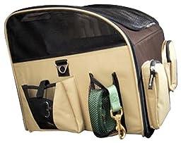 Valentina Valentti Luxury Pet Car Seat Carrier, Large, Brown [Misc.]