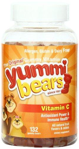 Yummi Bears Vitamin C, 132-Count Gummy Bears