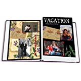 "8.5""X11"" BLACK INSERT SCRAPBOOK REFILL PAGES - Photo Album"
