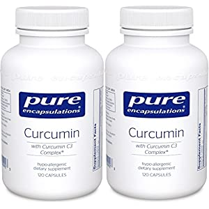 Pure Encapsulations - Curcumin 250 mg 120 vcaps - 2 Pack