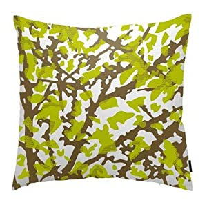 Woodland Throw Pillow in Forest