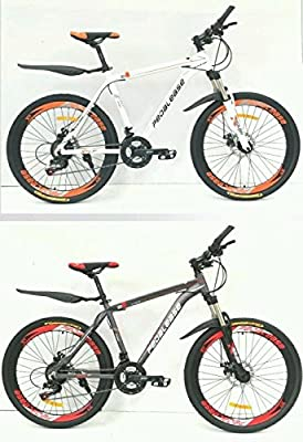 "Pedalease Estar 26""wheel Mountain Bike front suspension dual disc brake 21 speed"
