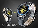 ZRDTH Punk Style Watch Anime Pokemon Pikachu Collectors Edition Touch Screen LED Watch
