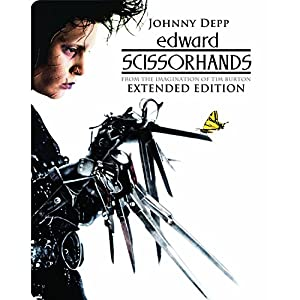 Edward Scissorhands - Limited Edition Steelbook (Blu-ray + DVD) [1990]