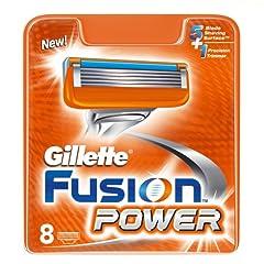 Gillette Fusion Power 8er Klingen