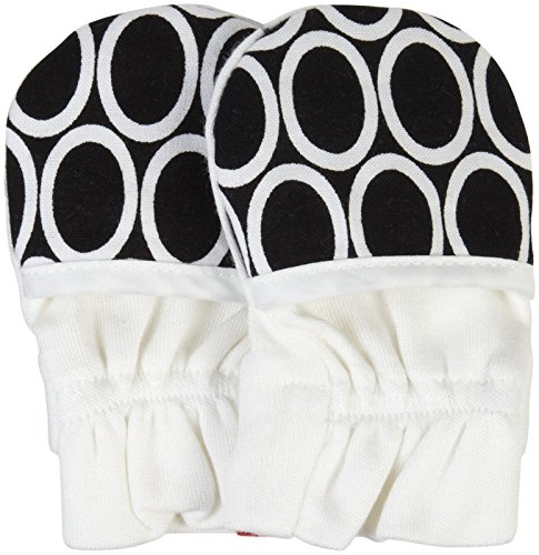 Goumimitts - smart, stay on baby mittens - 1 pack (S/M leaves pink)
