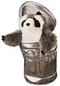 Raccoon In Garbage Can Puppet