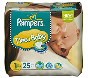 Pampers - Pampers New Baby Nouveau né x25