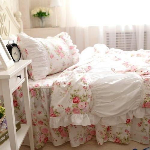 Light Pink Ruffle Bedding