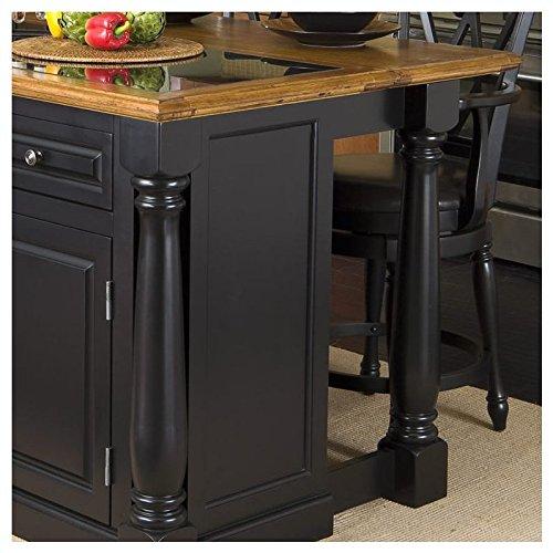 Black Marble Kitchen Top: Home Styles 5009-94 Monarch Granite Top Kitchen Island