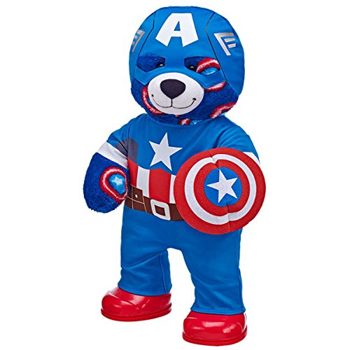 Build a Bear Workshop Captain America Teddy Bear in Captain America Costume build a bear workshop promise pets pink dog leash