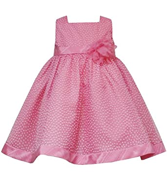 Amazon com rare editions baby infant girls 12m 24m coral pink white